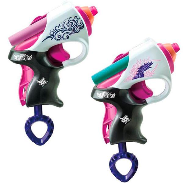 Hasbro Nerf A4807 N-Rebelle Мини-бластеры Сладкая парочка, 2 шт в упаковке оружие игрушечное hasbro hasbro бластер nerf n strike mega rotofury