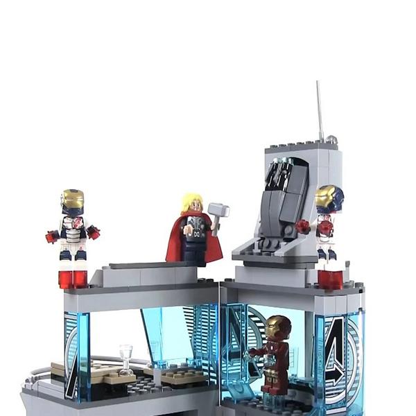 Lego Super Heroes 76038 Конструктор Лего Супер Герои Нападение на башню Мстителей
