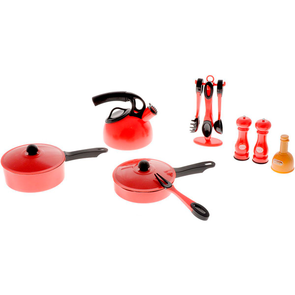 Boley 43507CM Игровой набор Кухонная посуда 14 предметов посуда кухонная