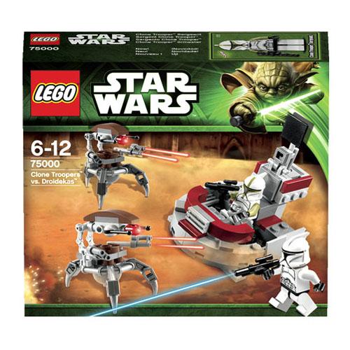 Конструктор Lego Star Wars 75000 Лего Звездные Войны Штурмовики-клоны против Дроидеков