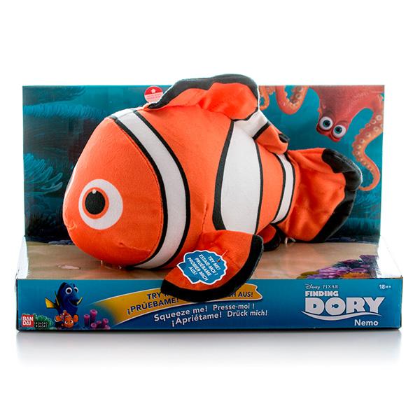 Finding Dory 36540 В поисках Дори Плюшевый подводный обитатель с озвучиванием (в ассортименте)