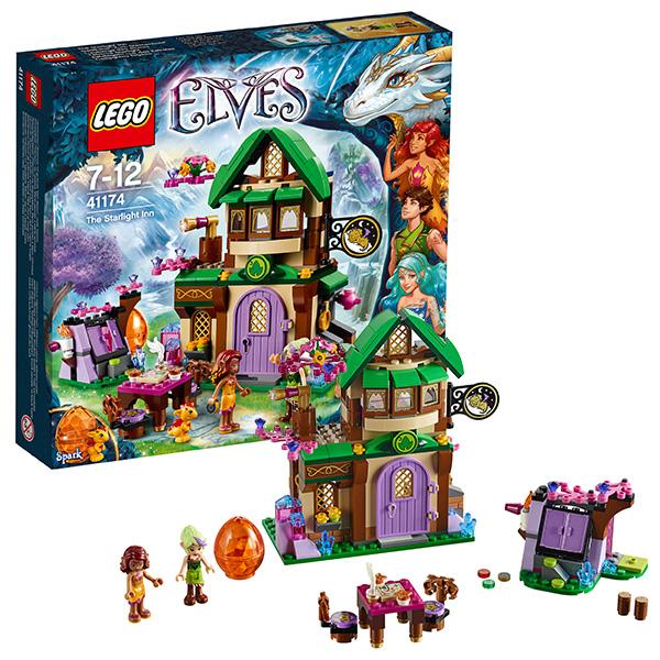 Lego Elves 41174 Конструктор Лего Эльфы Отель Звёздный свет