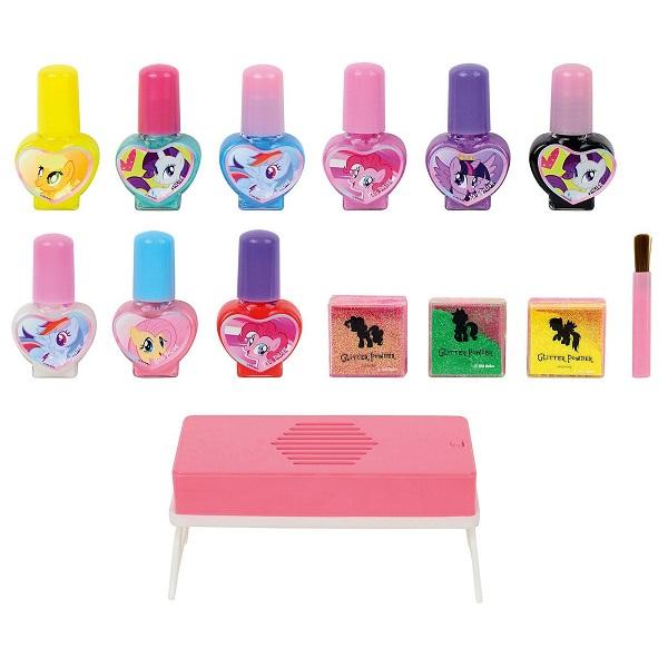 Markwins 9711851 My Little Pony Игровой набор детской декоративной косметики для ногтей
