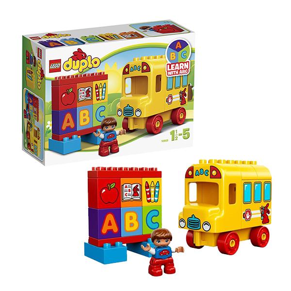 Lego Duplo 10603 Конструктор Лего Дупло Мой первый автобус lego duplo конструктор мой первый автобус 10603