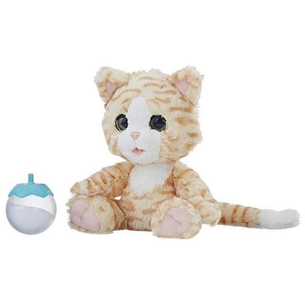 Hasbro Furreal Friends E0418 Покорми Котёнка интерактивные игрушки furreal friends милый дракоша
