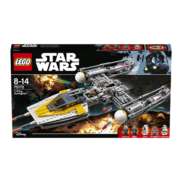 Lego Star Wars 75172 Лего Звездные Войны Звёздный истребитель типа Y