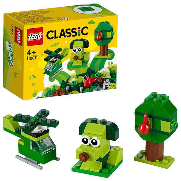 LEGO Classic 11007 Конструктор ЛЕГО Классик Зеленый набор для конструирования lego elves 41193 конструктор лего эльфы эйра и дракон песня ветра