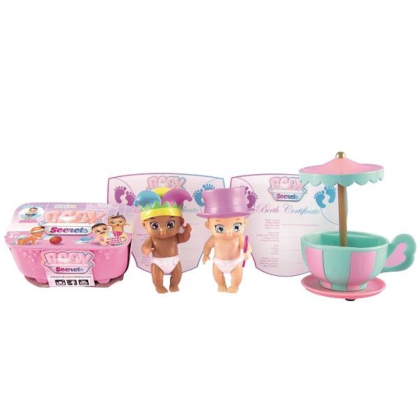 Zapf Creation Baby Secrets 930-335 Бэби Секрет Набор с каруселью zapf creation baby secrets 930 328 бэби секрет набор с садовыми качелями