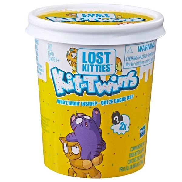 "Hasbro Lost Kitties E5086 Игровой набор ""Котики-близнецы"""