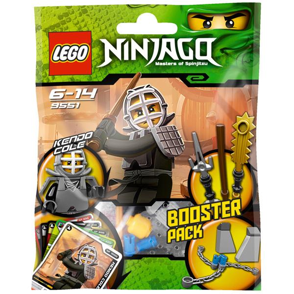 Lego Ninjago 9551 Конструктор Лего Ниндзяго Кэндо Коул