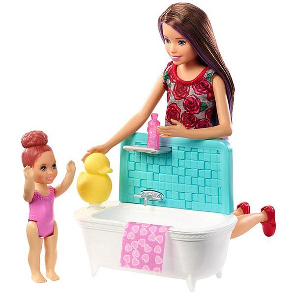 """цена на Mattel Barbie FXH05 Набор """"Няня"""" (в ассортименте)"""