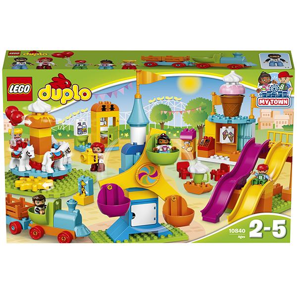Lego Duplo 10840 Конструктор Большой парк аттракционов