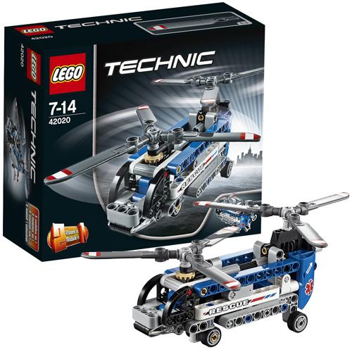 Конструктор Lego Technic 42020 Лего Техник Двухроторный вертолет