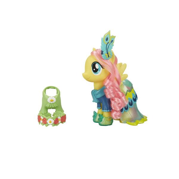 """Hasbro My Little Pony C0721/C1820 Май Литл Пони Пони-модницы """"Сияние"""" Флатершай жёлтая"""