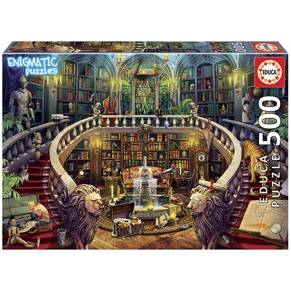 EDUCA 18479 Пазл 500 деталей Старая библиотека