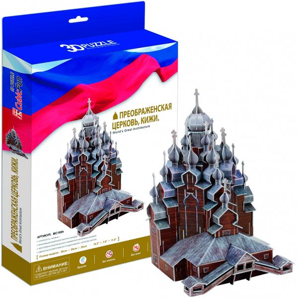 купить Cubic Fun MC169h Кубик Фан Преображенская церковь,Кижи (Россия) недорого