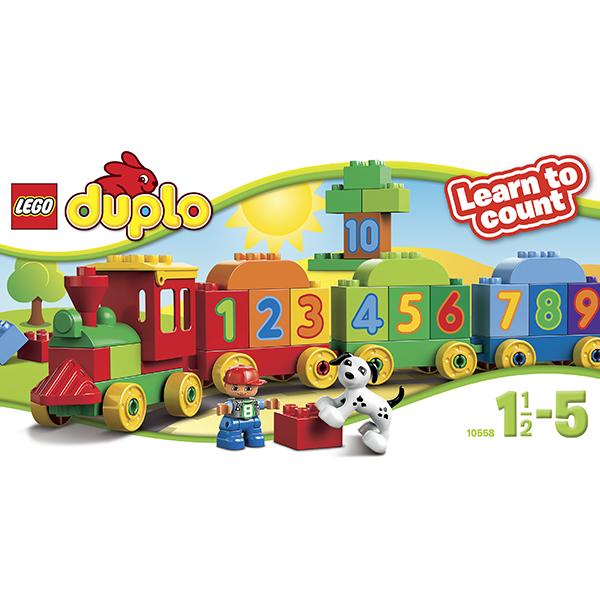 Лего Дупло 10558 Конструктор Считай и играй