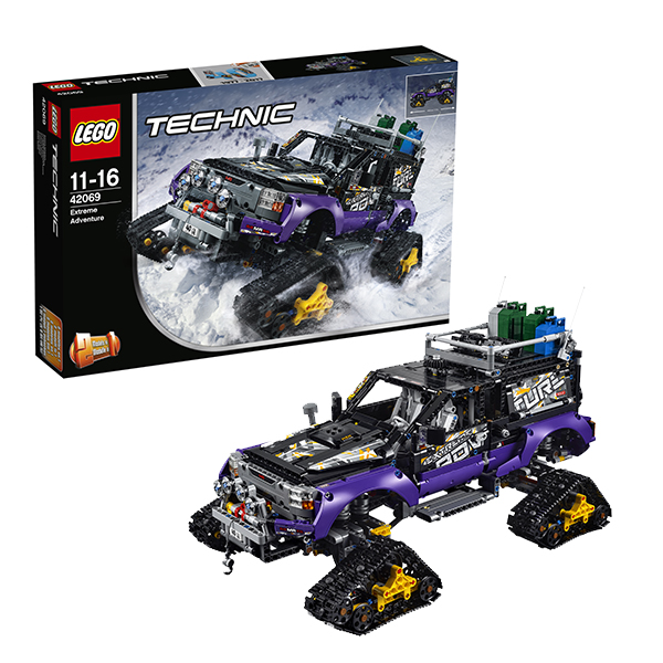 Lego Technic 42069 Конструктор Лего Техник Экстремальные приключения lego technic 42054 лего техник claas xerion 5000 trac vc