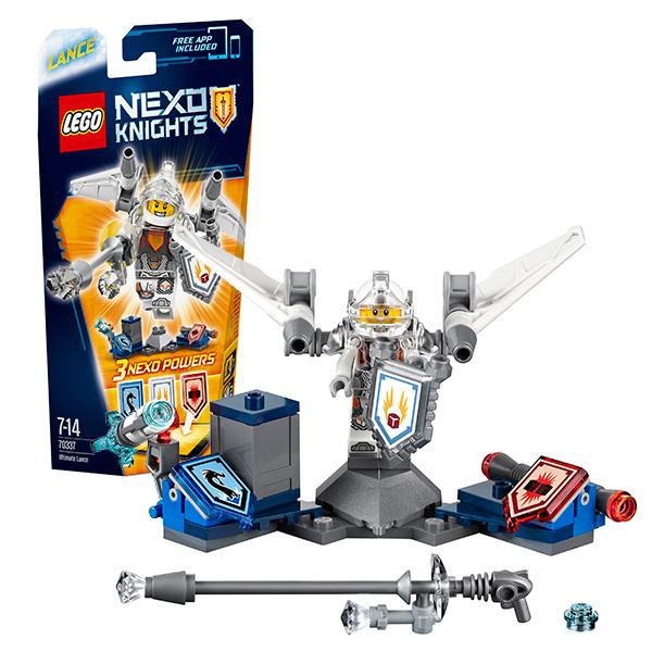 Lego Nexo Knights 70337 Лего Нексо Ланс- Абсолютная сила конструктор lego nexo knights 70348 турнирная машина ланса