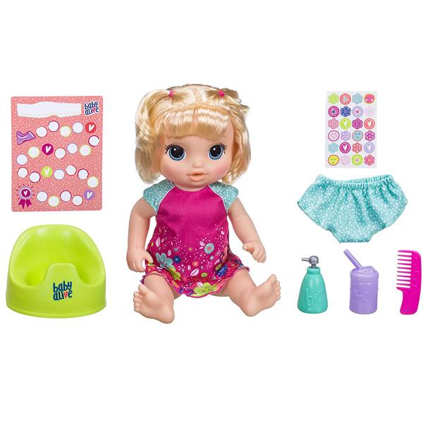 "Hasbro Baby Alive E0609 Кукла Блондинка ""Танцующая Малышка"" цена"