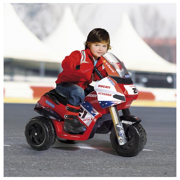 Детский электромобиль Peg-Perego ED0913 Raider Ducati