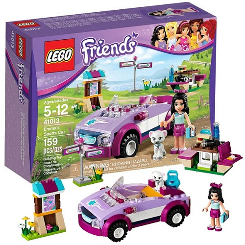 Конструктор Lego Friends 41013 Лего Подружки  Спортивный автомобиль Эммы