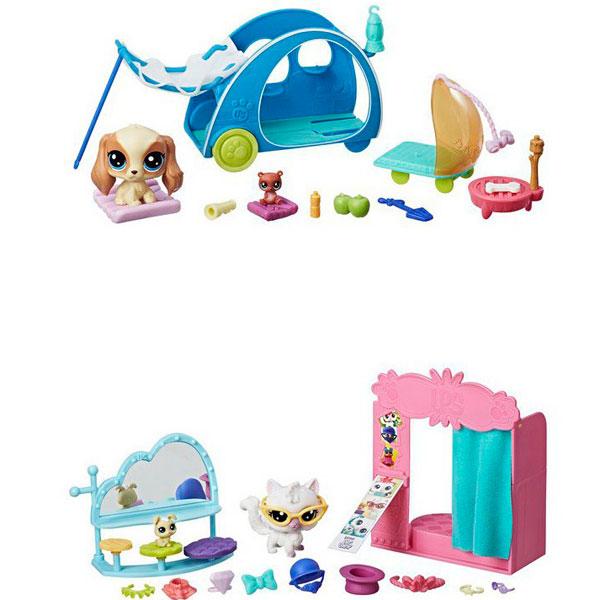 Hasbro Littlest Pet Shop E0393 Литлс Пет Шоп Игровой набор Хобби Петов hasbro littlest pet shop b9344 литлс пет шоп игровой набор дисплей для петов в ассортименте