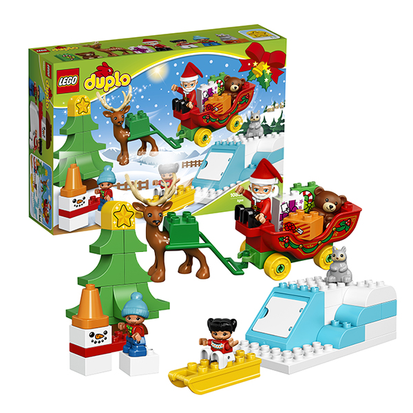 Lego Duplo 10837 Конструктор Лего Дупло Новый год