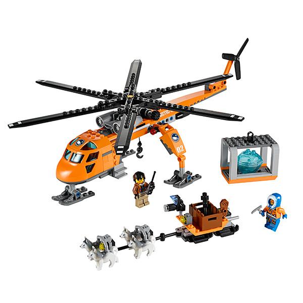 Lego City 60034 Конструктор Лего Город Арктический вертолёт