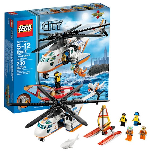 Lego City 60013_1 Конструктор Лего Город Вертолёт береговой охраны
