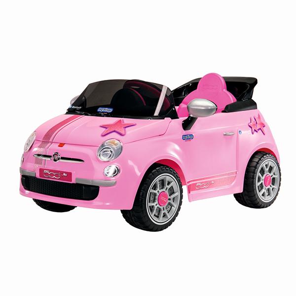 Детский электромобиль Peg-Perego ED1174 Fiat 500 Star Pink R/C детский электромобиль peg perego ed1165 corral bearcat