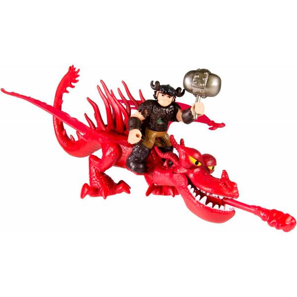 Dragons 66594-Hook Дрэгонс Набор дракон и всадник (Кривоклык)