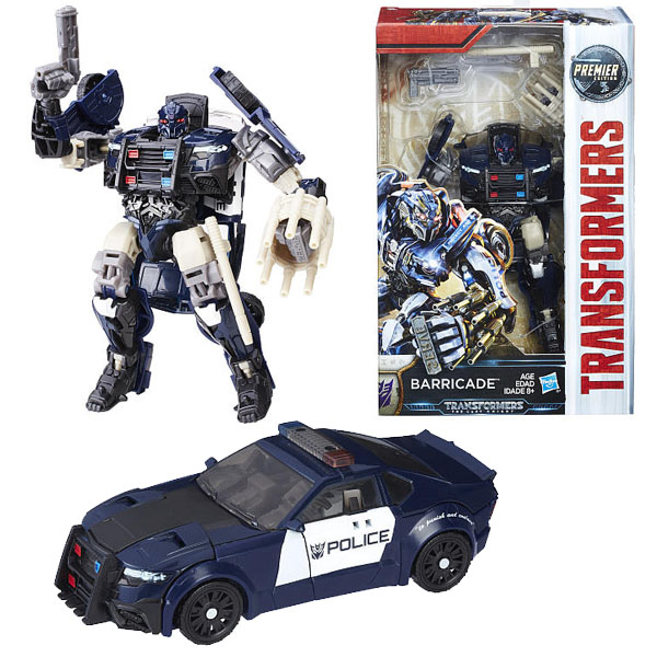 Hasbro Transformers C0887/C1321 Трансформеры 5: Делюкс Баррикейд роботы transformers трансформеры 5 делюкс автобот сквикс