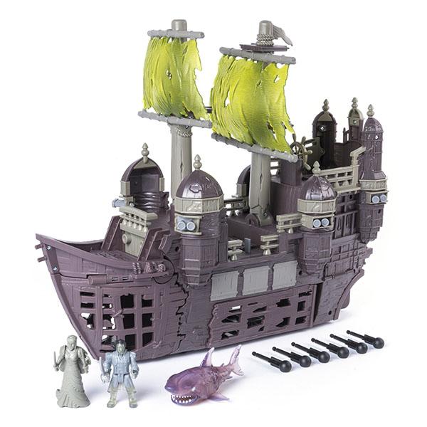 Pirates of Caribbean 73103-P Пиратский корабль Немая Мария (Silent Mary) черная жемчужина корабль капитана джека воробья
