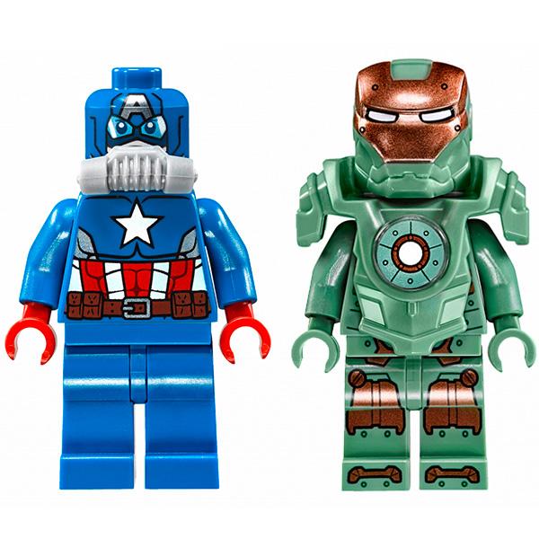 Lego Super Heroes 76048 Конструктор Лего Супер Герои Похищение Капитана Америка
