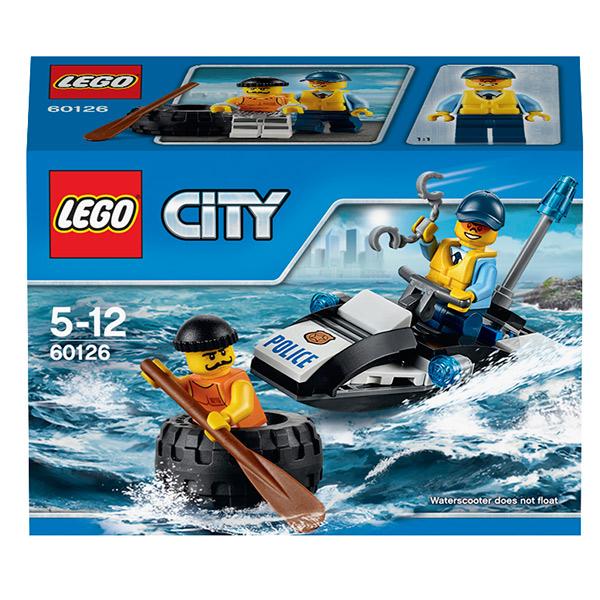 Lego City 60126 Конструктор Лего Город Побег в шине
