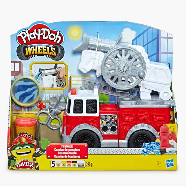 Hasbro Play-Doh E6103 Пожарная Машина hasbro play doh b3416 игровой набор пожарная машина
