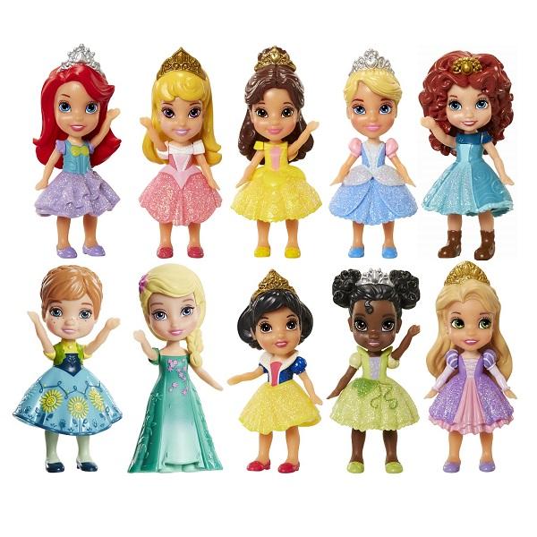 Disney Princess 758960 Принцессы Дисней Малышка 7,5 см (в ассортименте) disney princess 011500 принцессы дисней персонаж сериала софия прекрасная 7 5 см в ассортименте