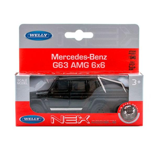 Welly 43704 модель машины 1:34-39 Mercedes-Benz G63 AMG 6x6