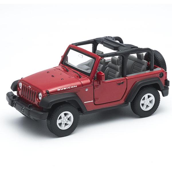 Welly 42371 Велли Модель машины 1:34-39 Jeep Wrangler Rubicon siku внедорожник jeep wrangler с прицепом для перевозки лошадей