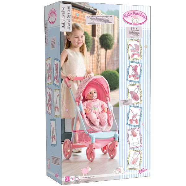 Zapf Creation Baby Annabell 1423556 Коляска многофункциональная (стульчик, качели, кресло)