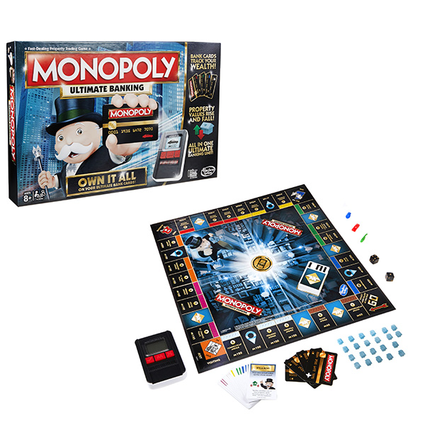 Hasbro Monopoly B6677_9 Монополия с банковскими картами (обновленная)