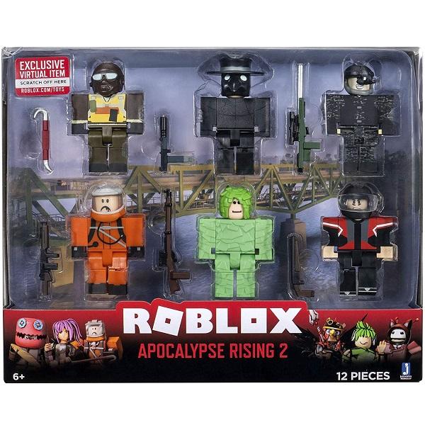 Roblox ROB0337 Фигурка героя Apocalypse Rising 2 (6 шт. с аксессуарами)