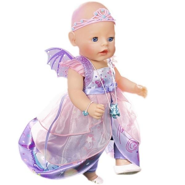 Zapf Creation Baby born 824-191 Бэби Борн Кукла Интерактивная Волшебница, 43 см