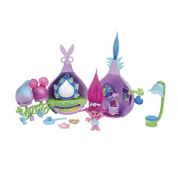 Hasbro Trolls B6559 Тролли Набор Салон красоты Троллей hasbro trolls b9885 тролли набор город троллей диджей баг