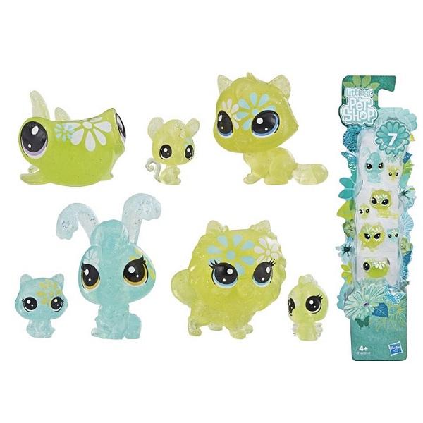 """цены Hasbro Littlest Pet Shop E5149 Литлс Пет Шоп Игровой набор """"7 ЦВЕТОЧНЫХ ПЕТОВ"""""""