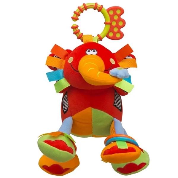 Фото - ROXY-KIDS RBT20004 Игрушка развивающая Слоненок Элли roxy kids rbt20014 игрушка развивающая слоненок сквикер пищалка внутри размер 18 см