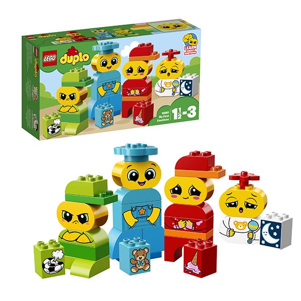 Lego Duplo 10861 Лего Дупло  Мои первые эмоции конструкторы lego lego мои первые пирожные 10850 duplo