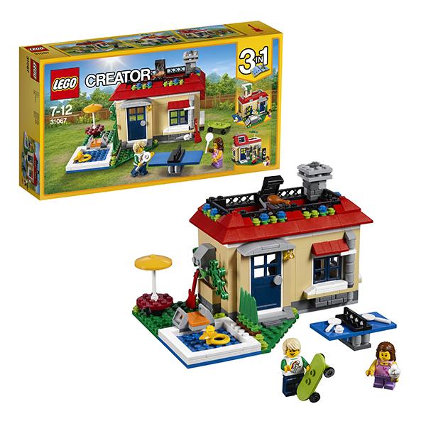 Lego Creator 31067 Конструктор Лего Криэйтор Вечеринка у бассейна lego lego creator 31044 лего криэйтор животные в парке