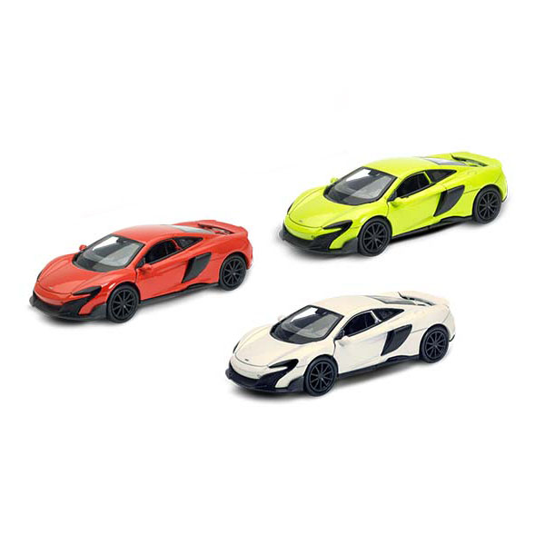 Welly 43757 Велли Модель машины 1:38 McLaren 675LT Coupe welly 44000w велли модель машины 1 43 8 моделей в ассортименте